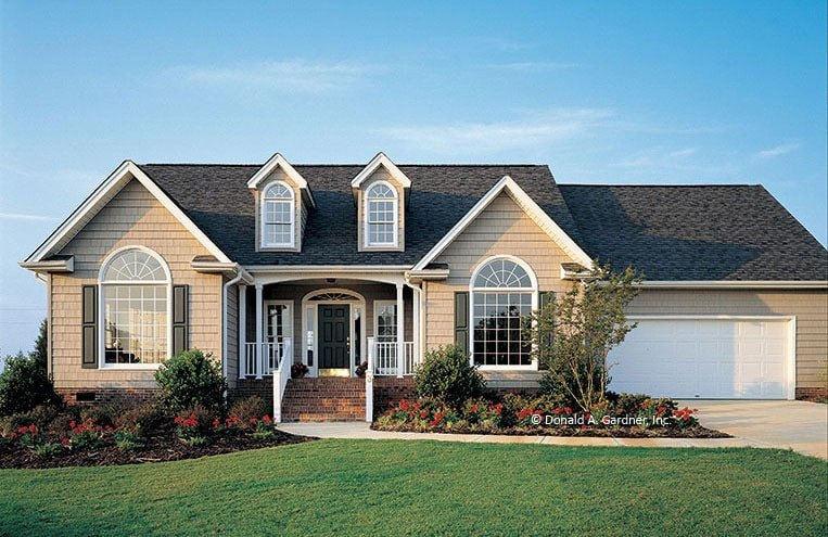 Single-Story 3-Bedroom Traditional Style The Hampton Home