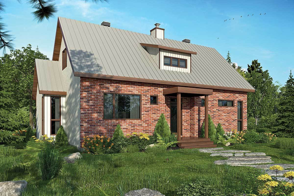 Two-Story 1-Bedroom Versatile Cottage