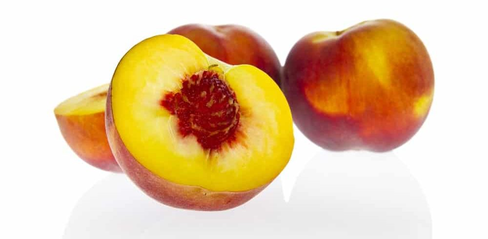 Yellow flesh peaches