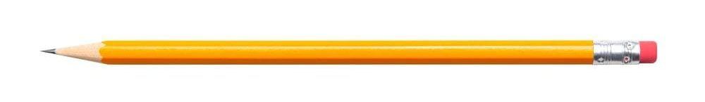 yellow 3H pencil