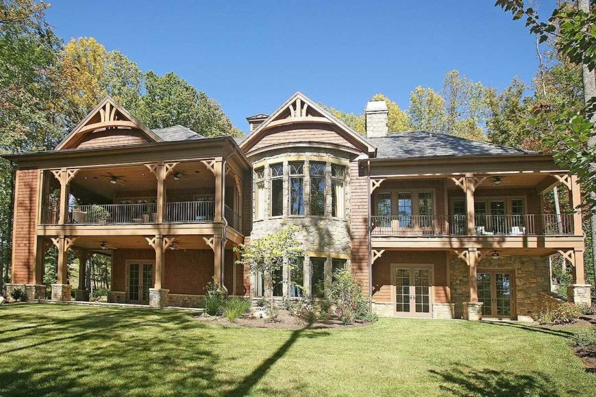 4-Bedroom Single-Story Mountain Home with Elevator