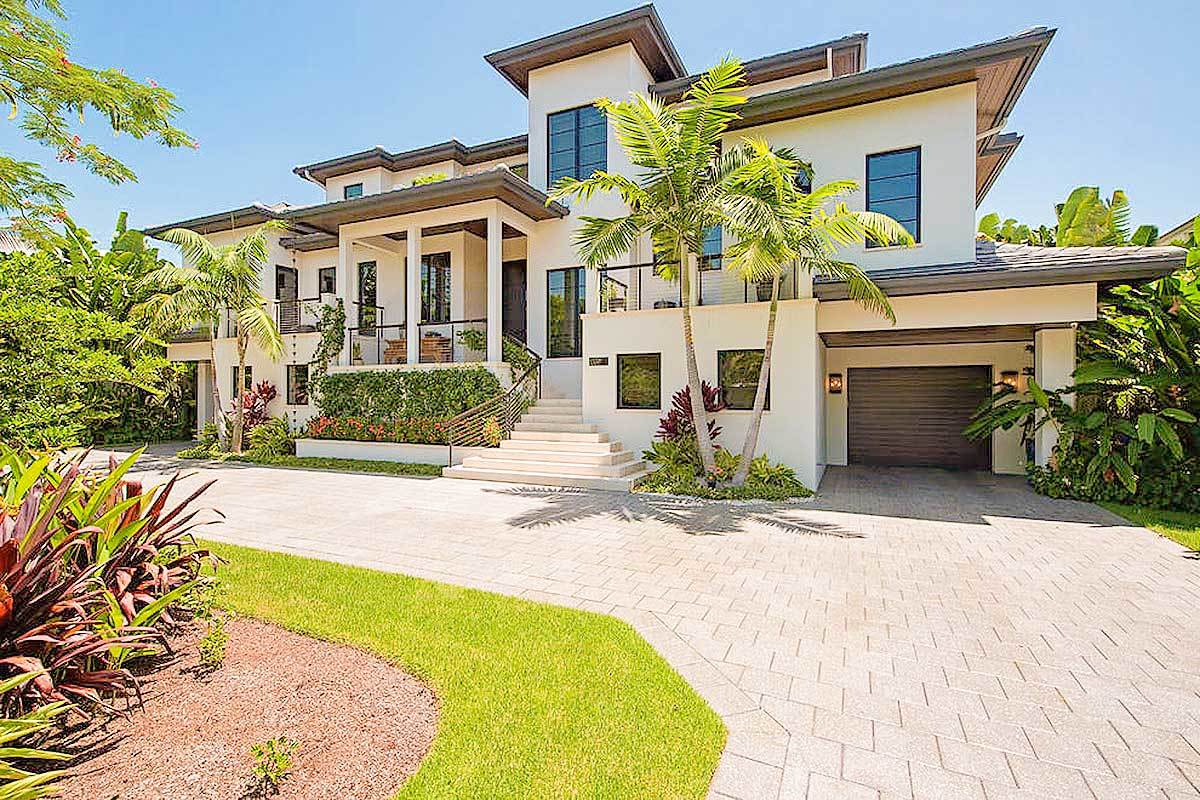 4-Bedroom Two-Story Florida Home with Elevator