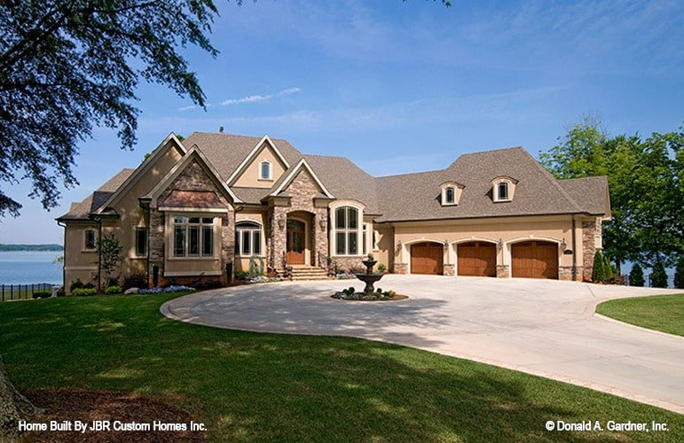 4-Bedroom Two-Story The Heatherstone European Home with Elevator