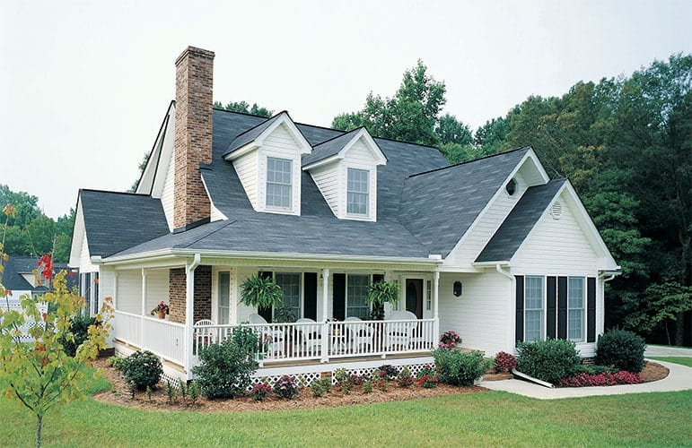 4-Bedroom Two-Story The MacLeish Country Home with L-Shaped Wrap Around Porch