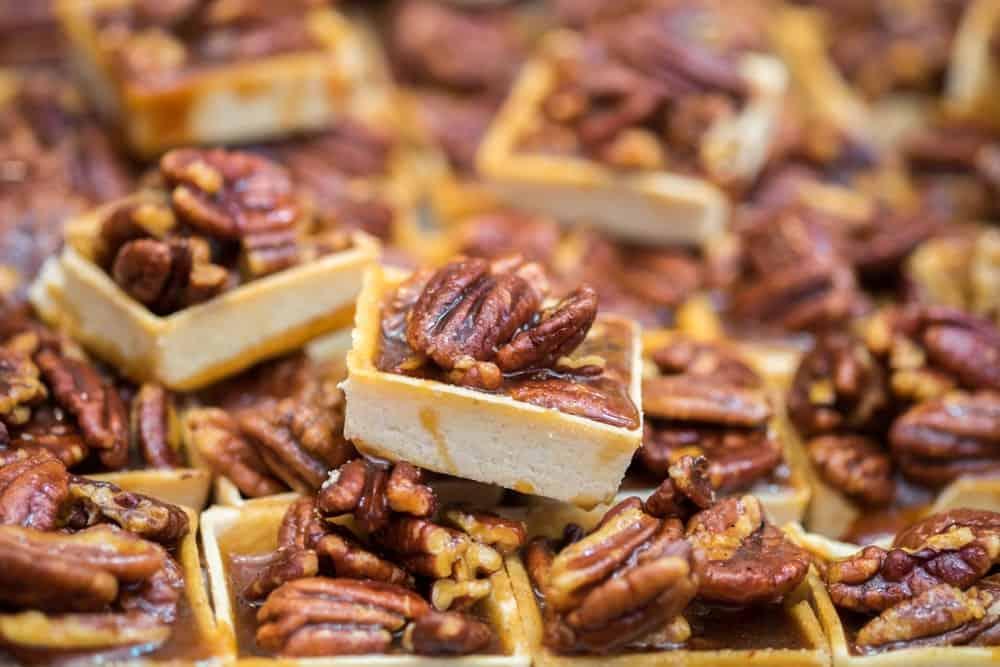 Mahan pecan tarts