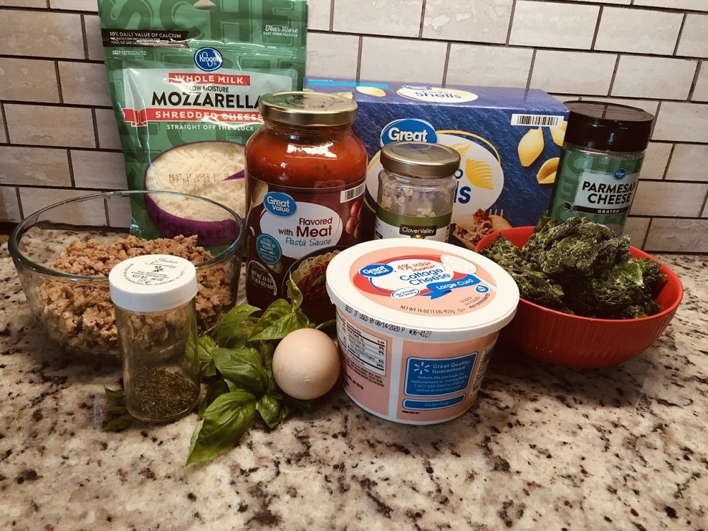 The complete set of ingredients to be used.