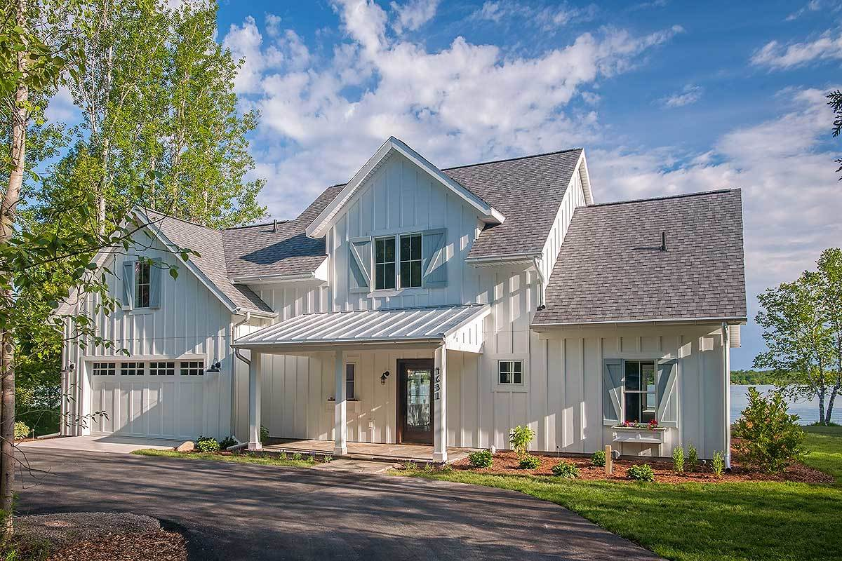 Two-Story 3-Bedroom Farmhouse with Open Layout and Bonus Room