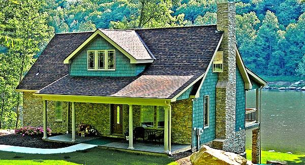 Two-Story 4-Bedroom Craftsman Cottage for Sloped Lots