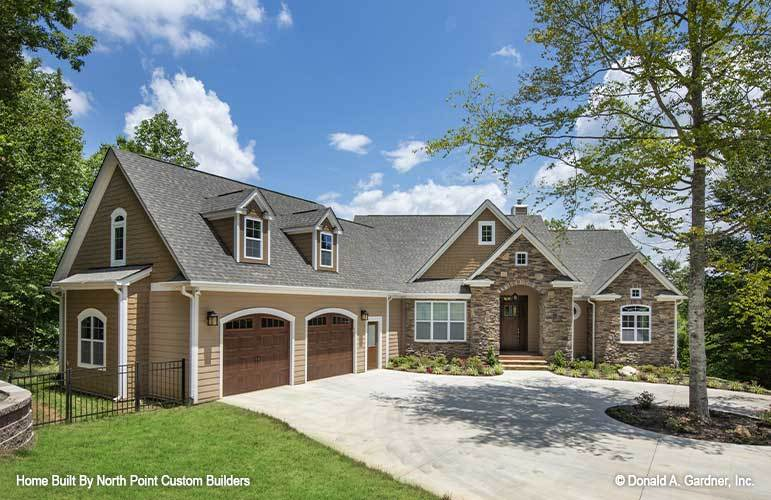 Two-Story 4-Bedroom The Sandy Creek Craftsman with Elevator