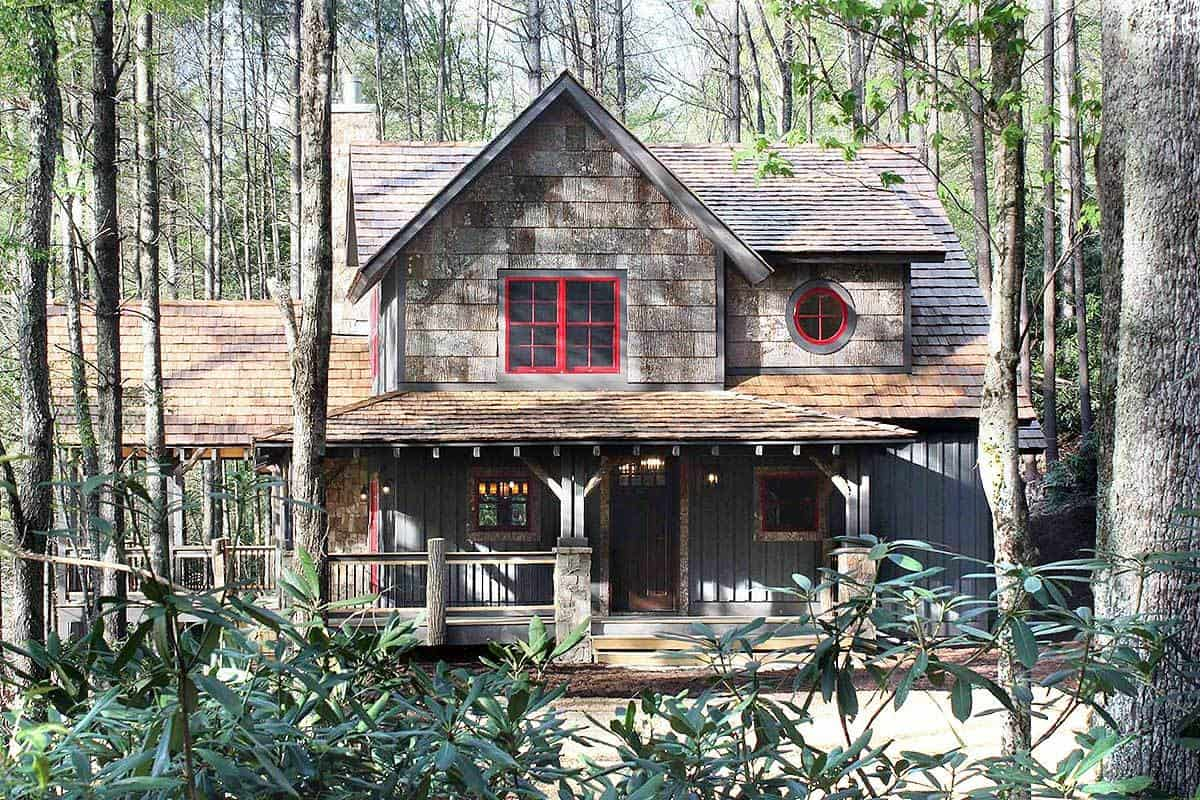 Two-Story 5-Bedroom Craftsman Style Home with Wrap Around Porch