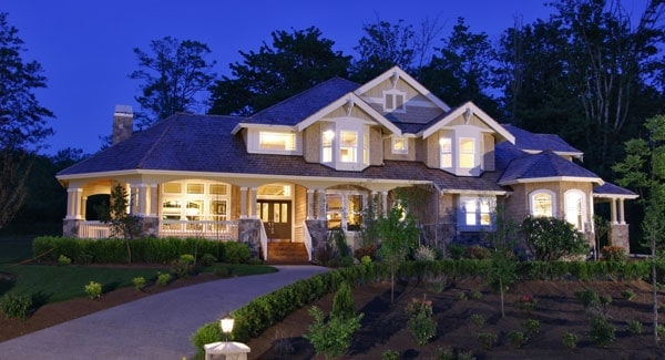 Two-Story 4-Bedroom Cedar Crest Craftsman with a Wrap Around Porch