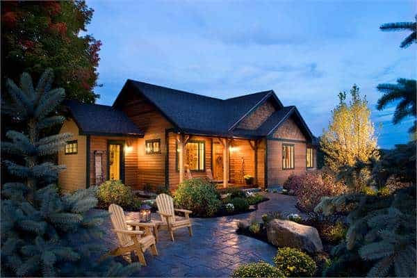 3-Bedroom Single-Story The Cherokee Cabin Home