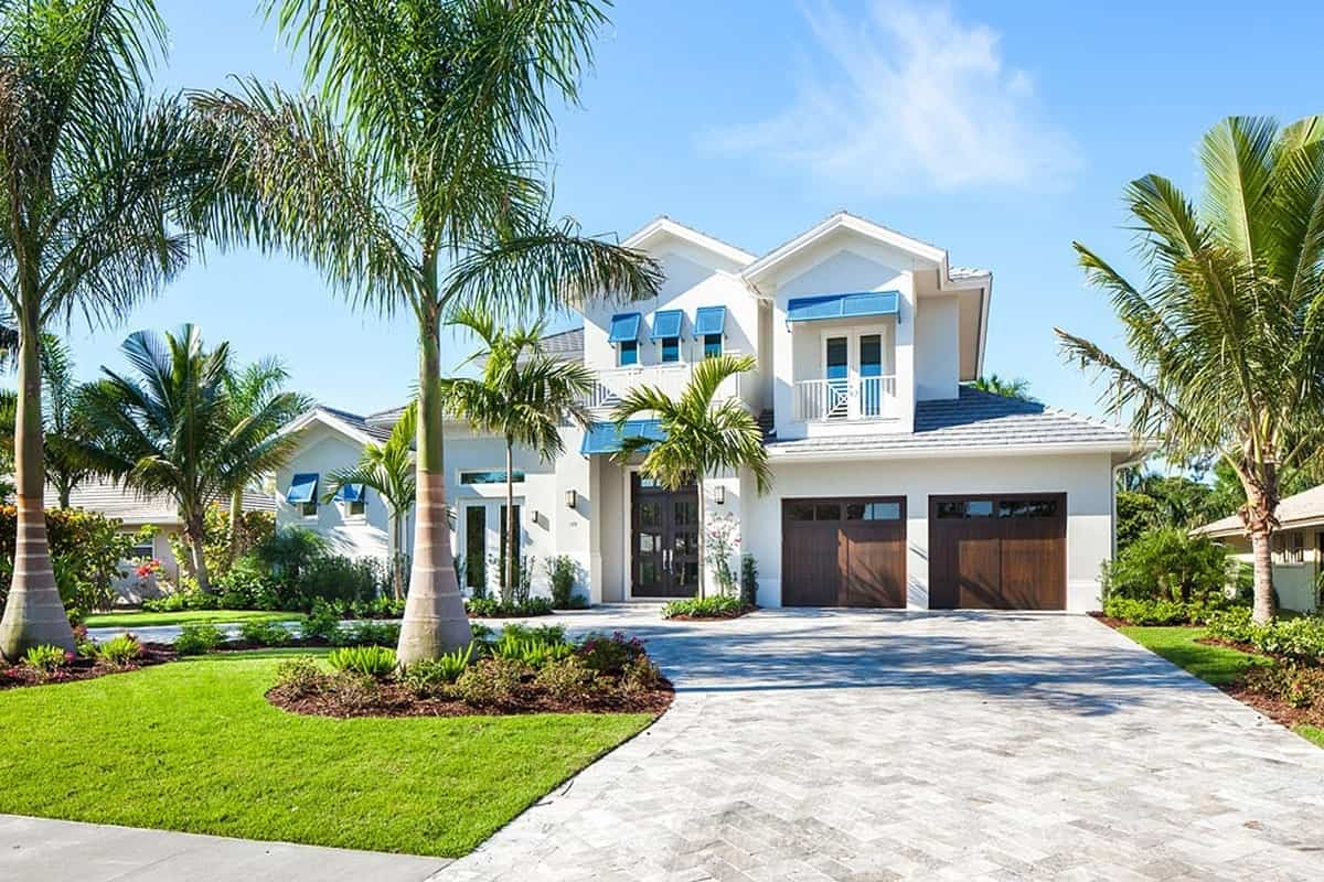3-Bedroom Two-Story Florida Home with a Bar