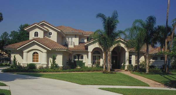 4-Bedroom Two-Story Spanish Style Home