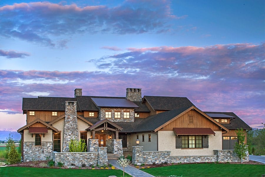 5-Bedroom Two-Story Craftsman Home with 4-Car Garage