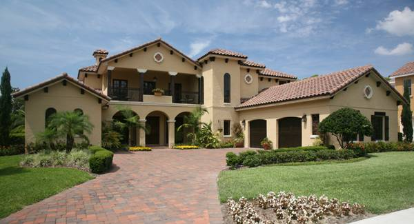 5-Bedroom Two-Story Spanish Style Sophia Home with a Loft