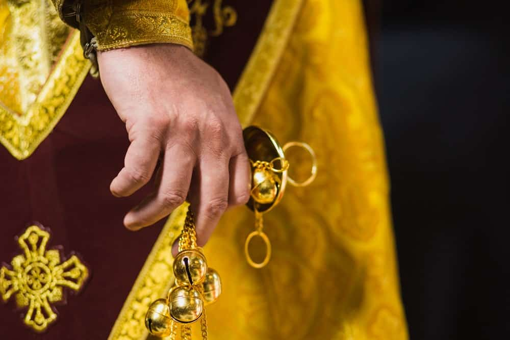 Bells used by the religious as a form of symbolism.
