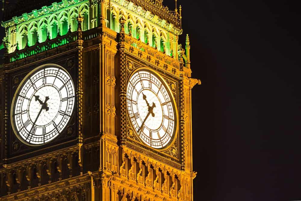 Bells inside the Big Ben Clock Tower
