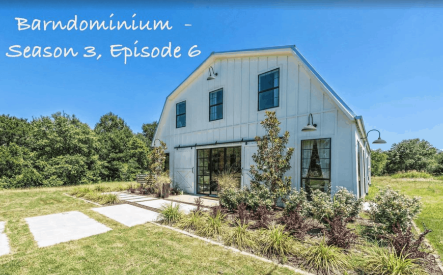 Barndominium for rent