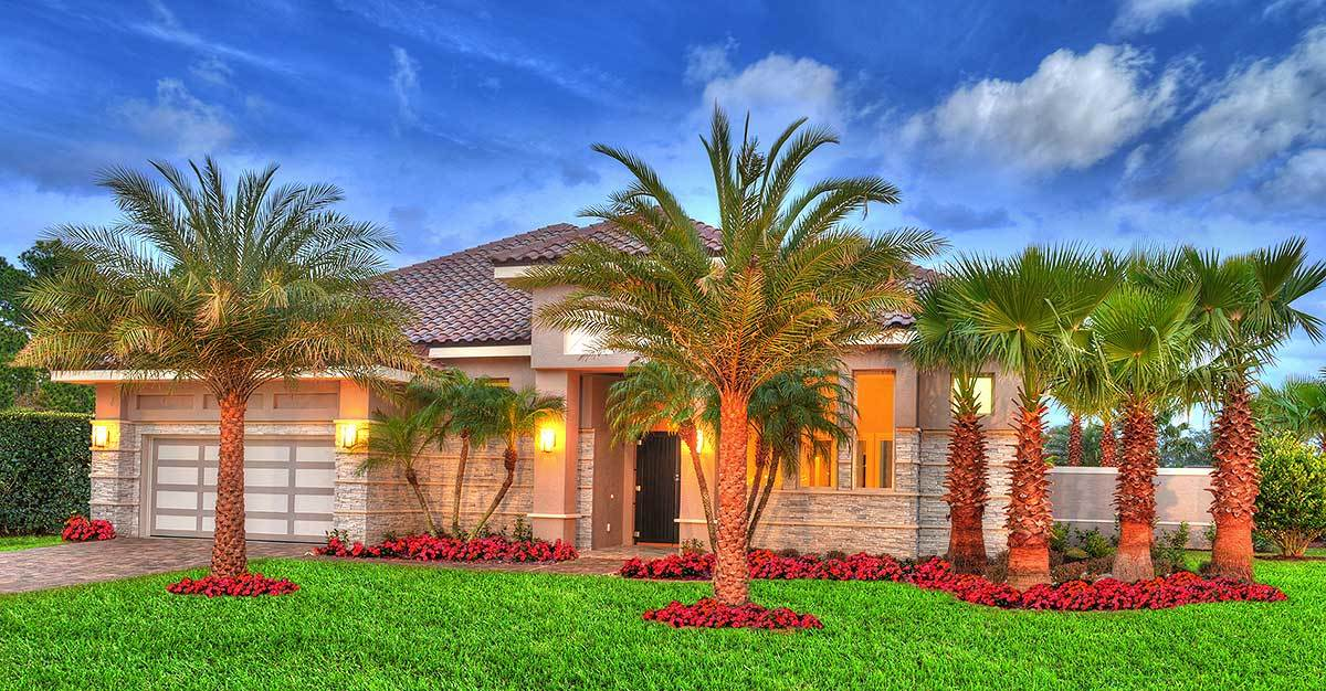 Single-Story 4-Bedroom Florida Home with Separate In-Law Casita