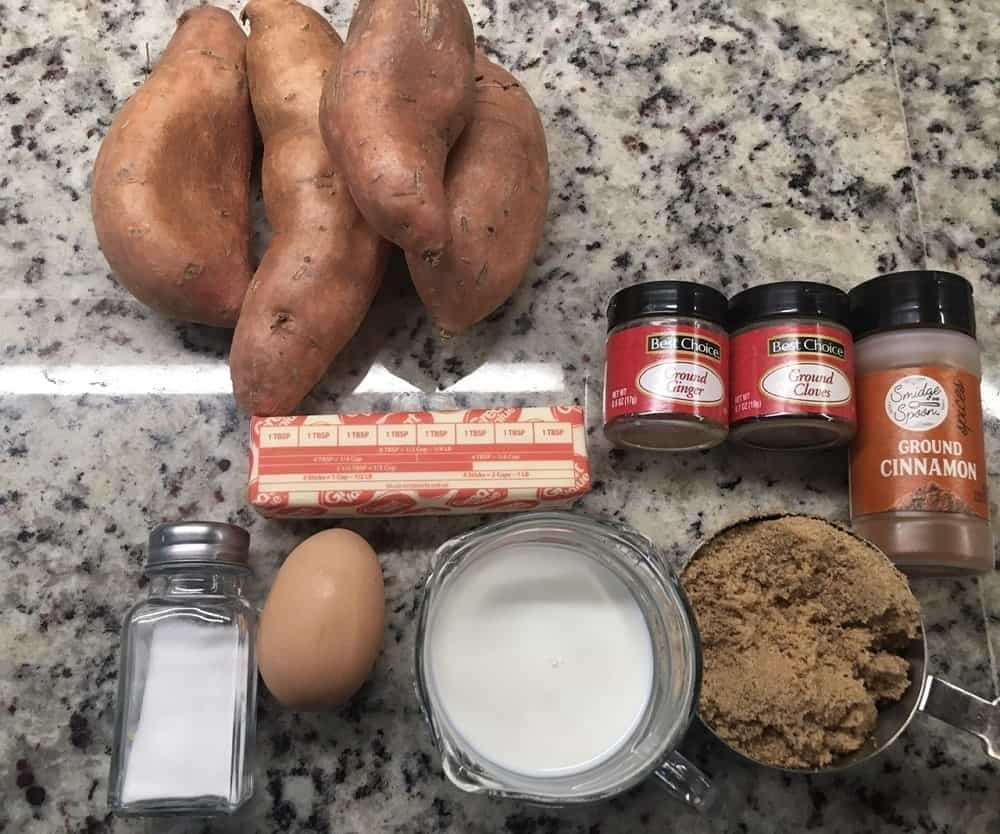 The set of ingredients to be used in the recipe.