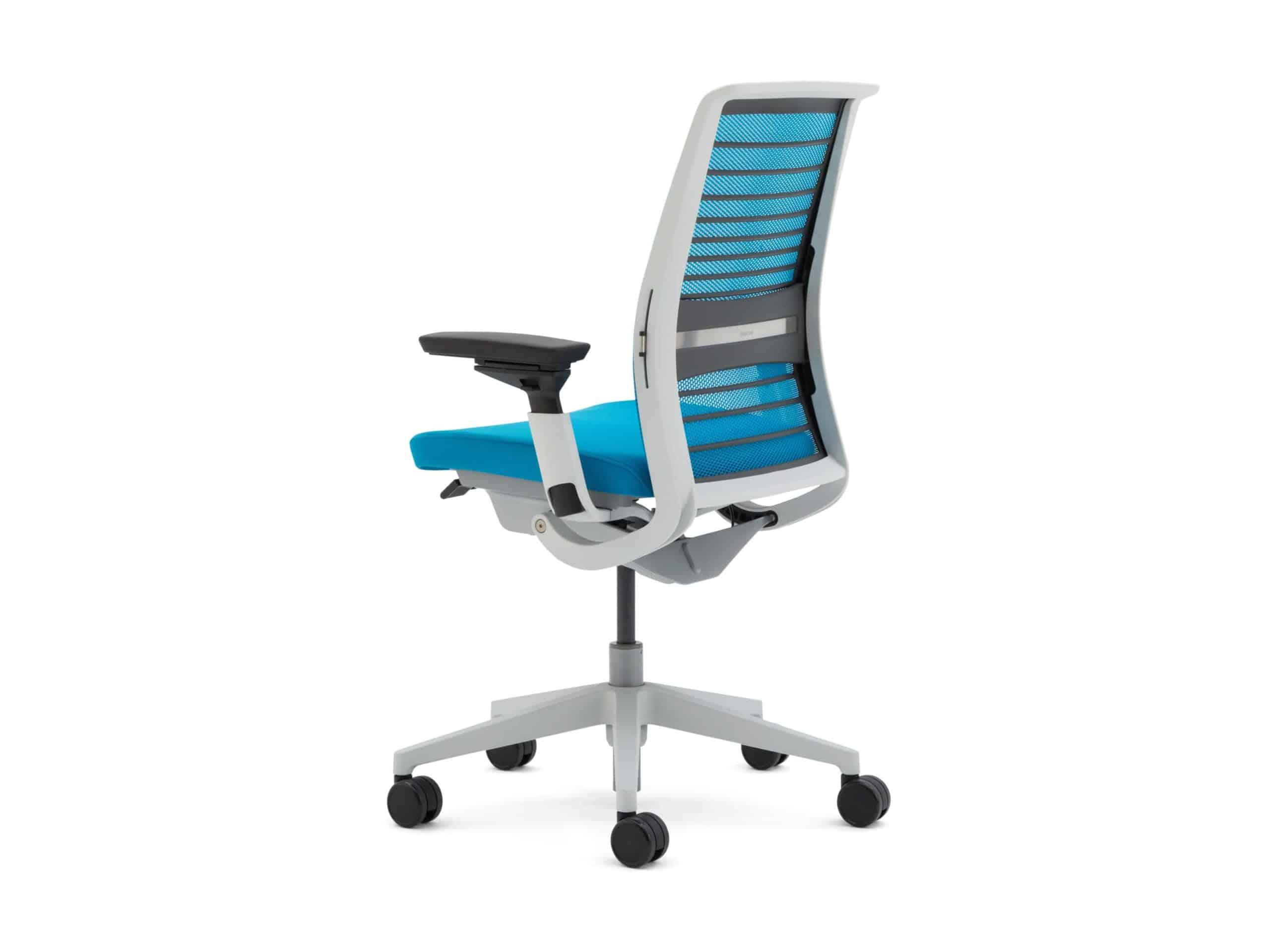 Blue Think chair