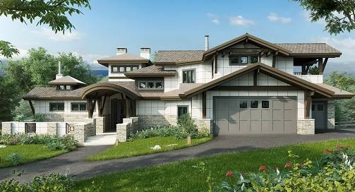 Three-Story 4-Bedroom Tamano Contemporary Style Home with Courtyard