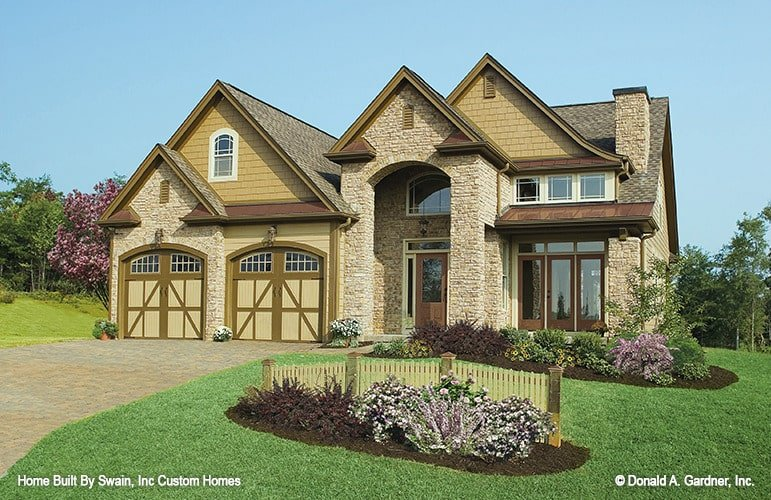 Two-Story 3-Bedroom The Wicklow Texas Style Home with a Loft