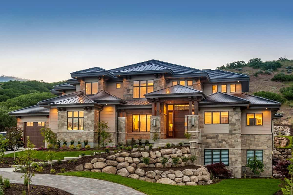 Two-Story 4-Bedroom Modern Home with In-Law Suite
