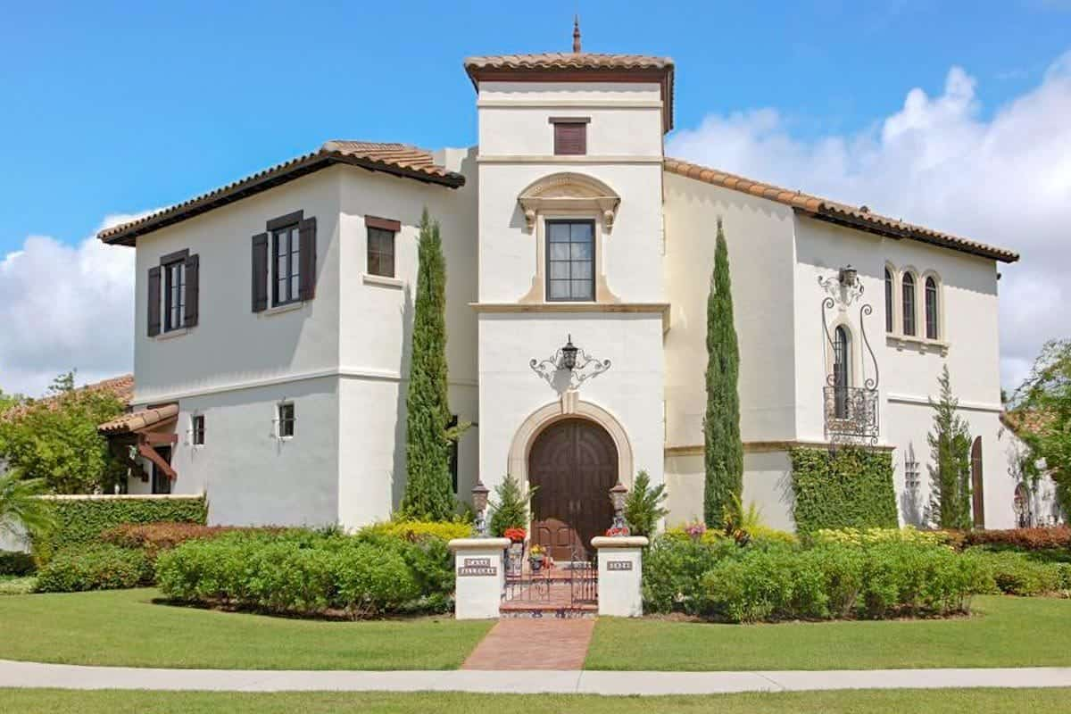 Two-Story 6-Bedroom Spanish Colonial Home with Central Courtyard