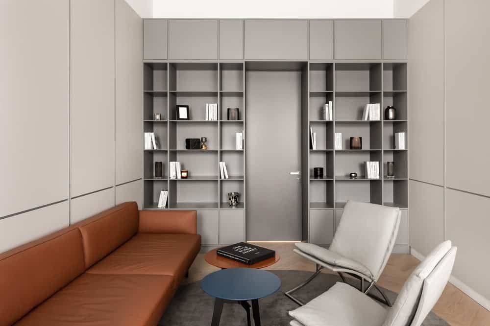 Interior of FG OFF project by aisel architects