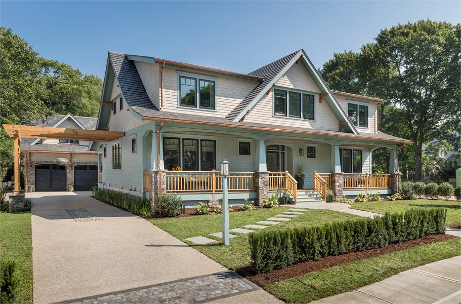 4-Bedroom Two-Story Craftsman Style 2018 Idea Home with a Loft and In-Law Suite