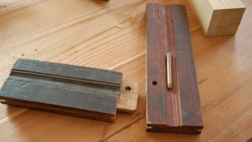 A look at two pieces of wood with tongue and groove joint.
