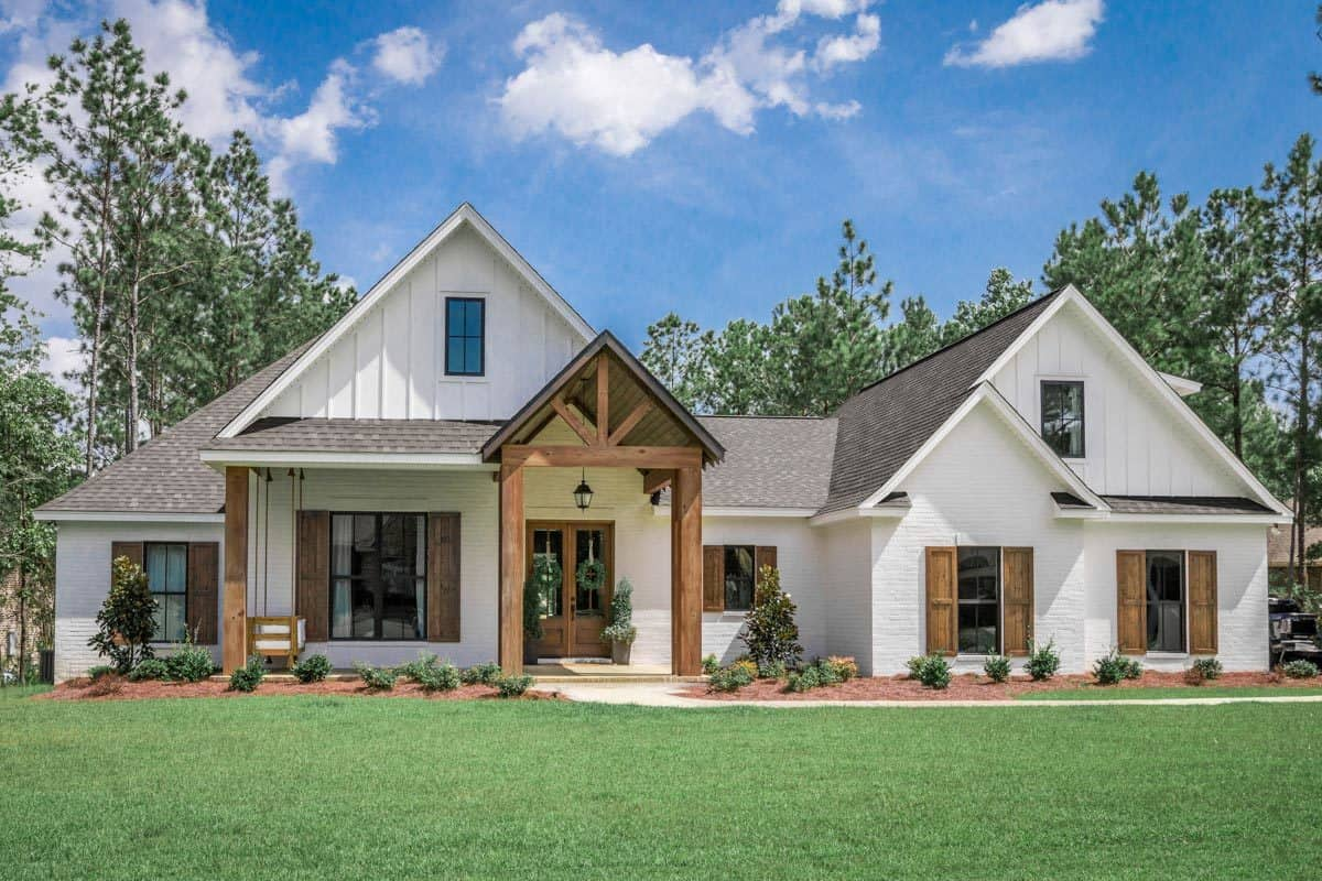 Two-Story 5-Bedroom Southern French Country Home with Bonus Room
