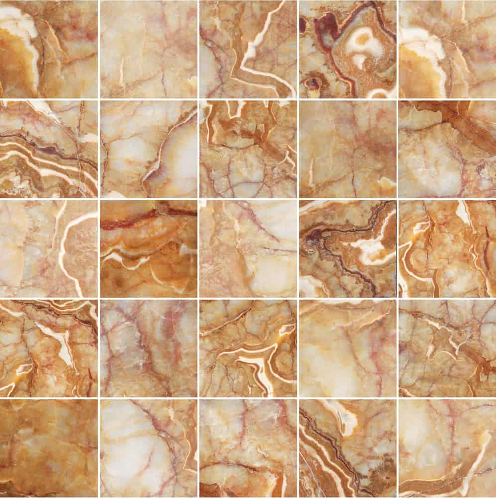 This is a close look at marble onyx tiles.