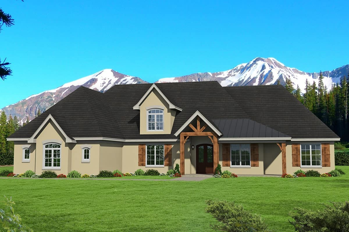 3-Bedroom Two-Story Mountain Home with Bonus Room over Garage