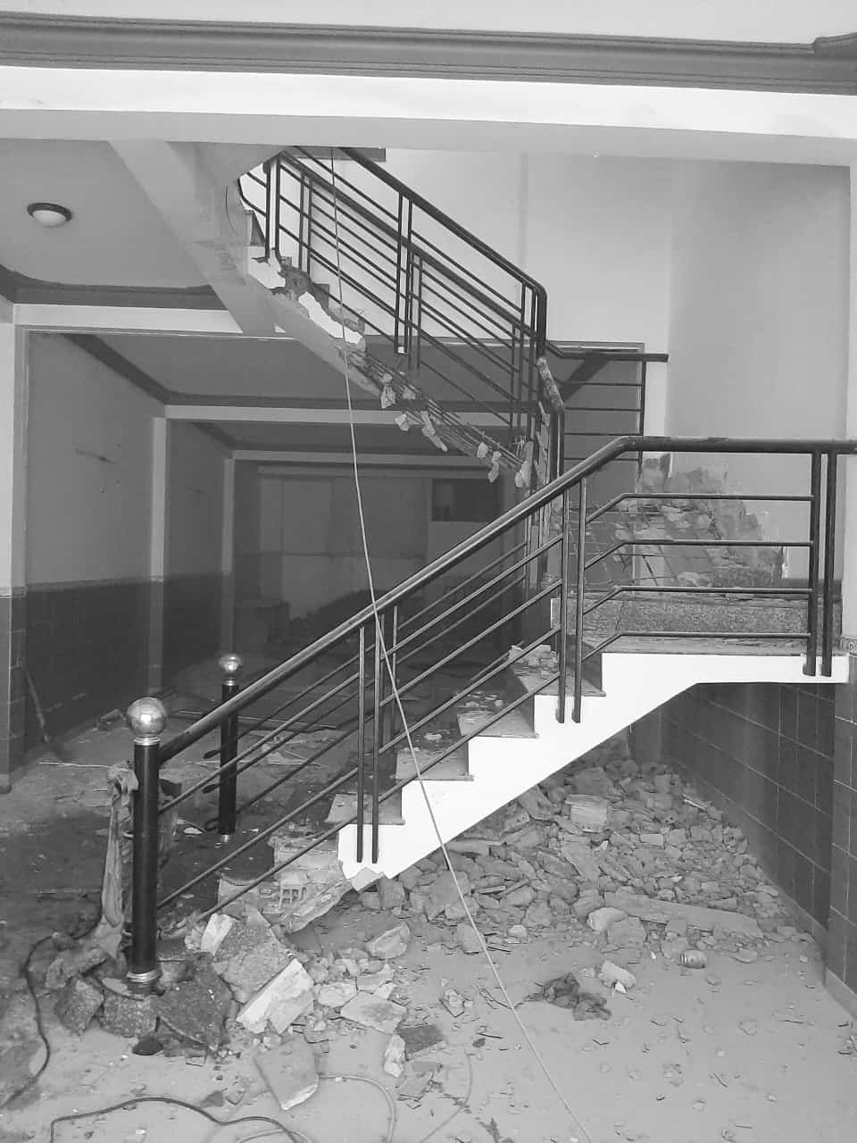 This is one of the house's photos before renovation.