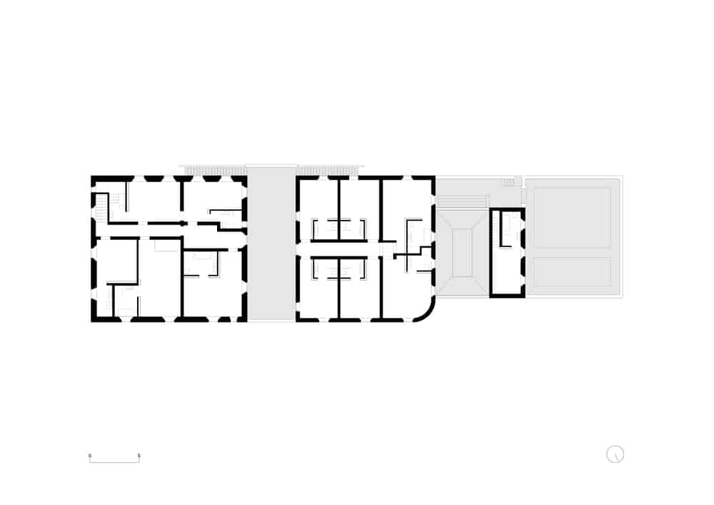 Thisis an illustration of the first level floor plan.