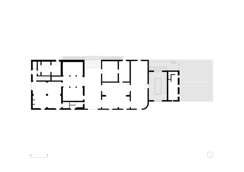 Thisis an illustration of the ground level floor plan.