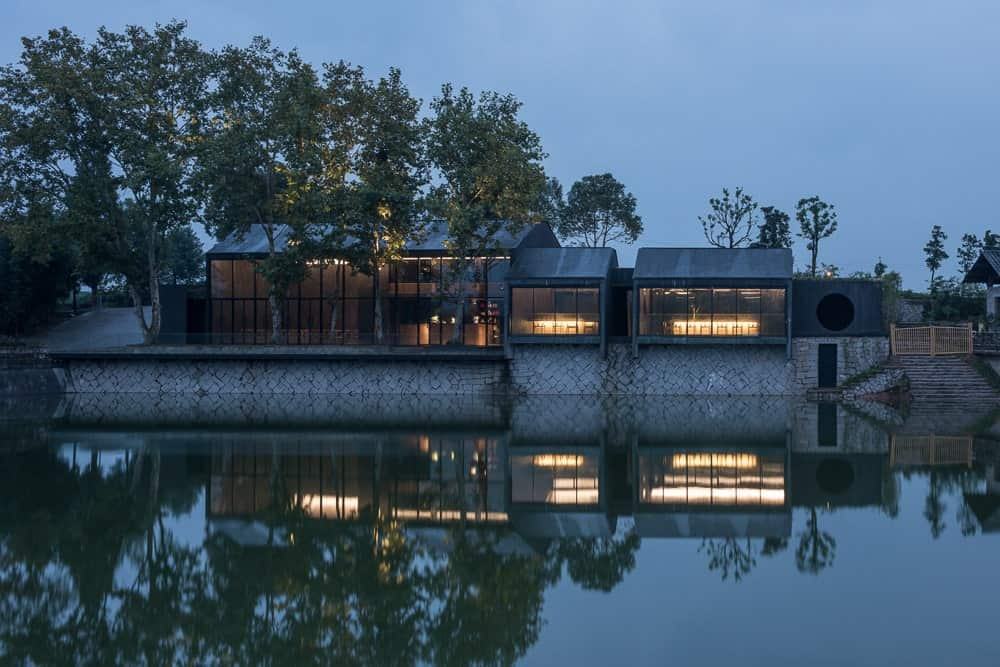 Damushan Teahouse by DnA_Design and Architecture