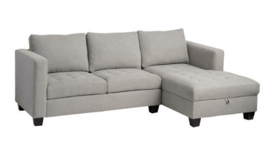 World Market's Right Facing Trudeau Sectional