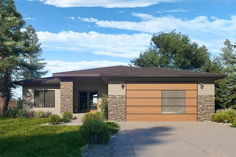 Single-Story 3-Bedroom Modern Ranch with Open Concept Living