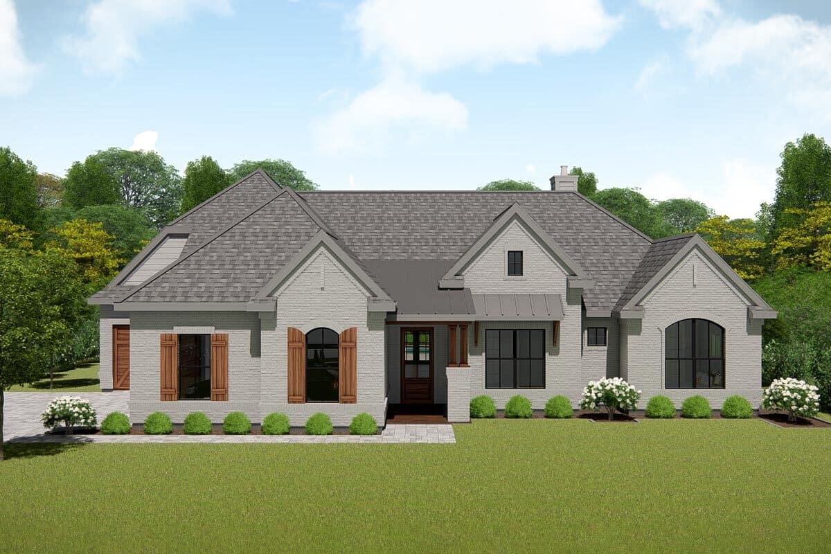 Single-Story 4-Bedroom New American Ranch with Open Concept Living