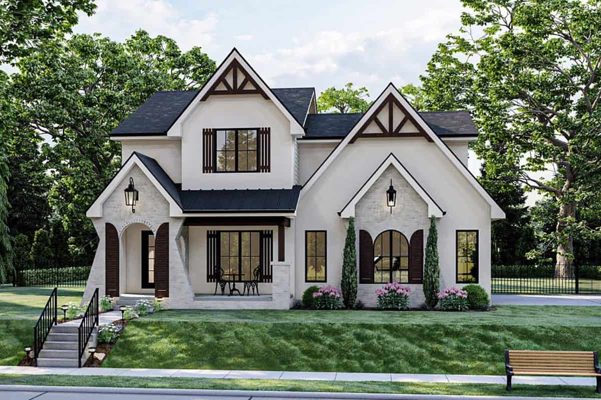 Two-story 3-Bedroom Modern Cottage-Style with Double Garage