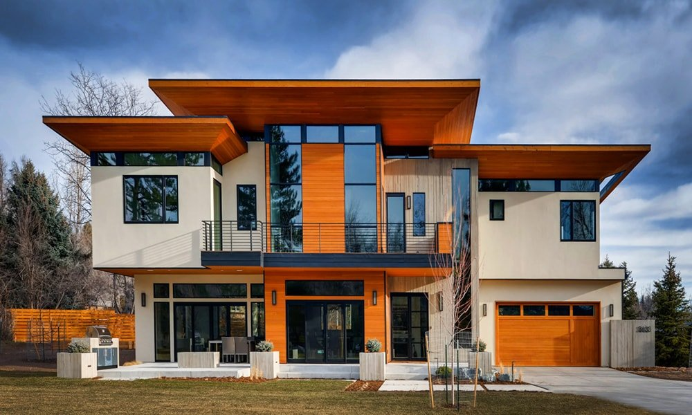 Near-Net Zero Energy Modern Home in Boulder, CO by Rodwin Architecture and Skycastle Construction