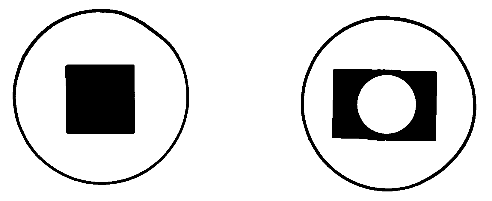 This is an illustrative diagram showing a single piece of bamboo from the panel and how it swivels to either let in or block light and air.