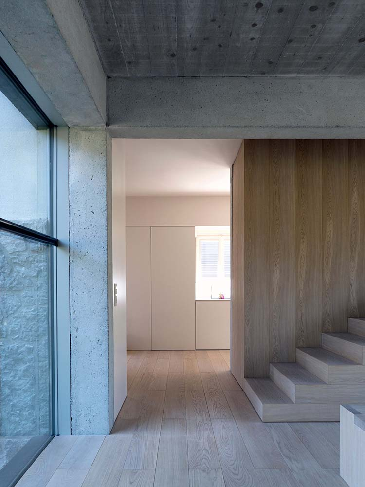 This is a close look at the interior tone of the house that matches with the floor and walls.