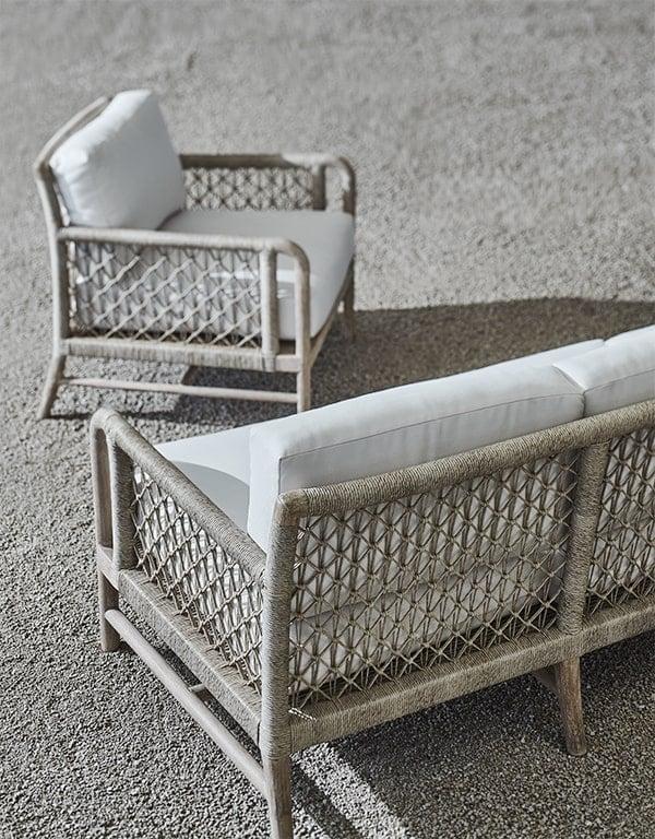 Palecek outdoor sofa set