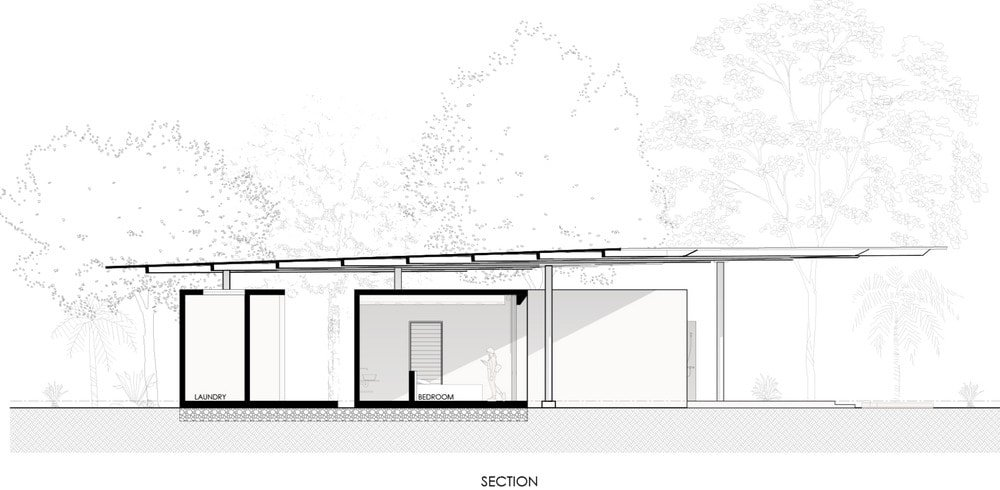 This is an illustration of the house's section 2 diagram..