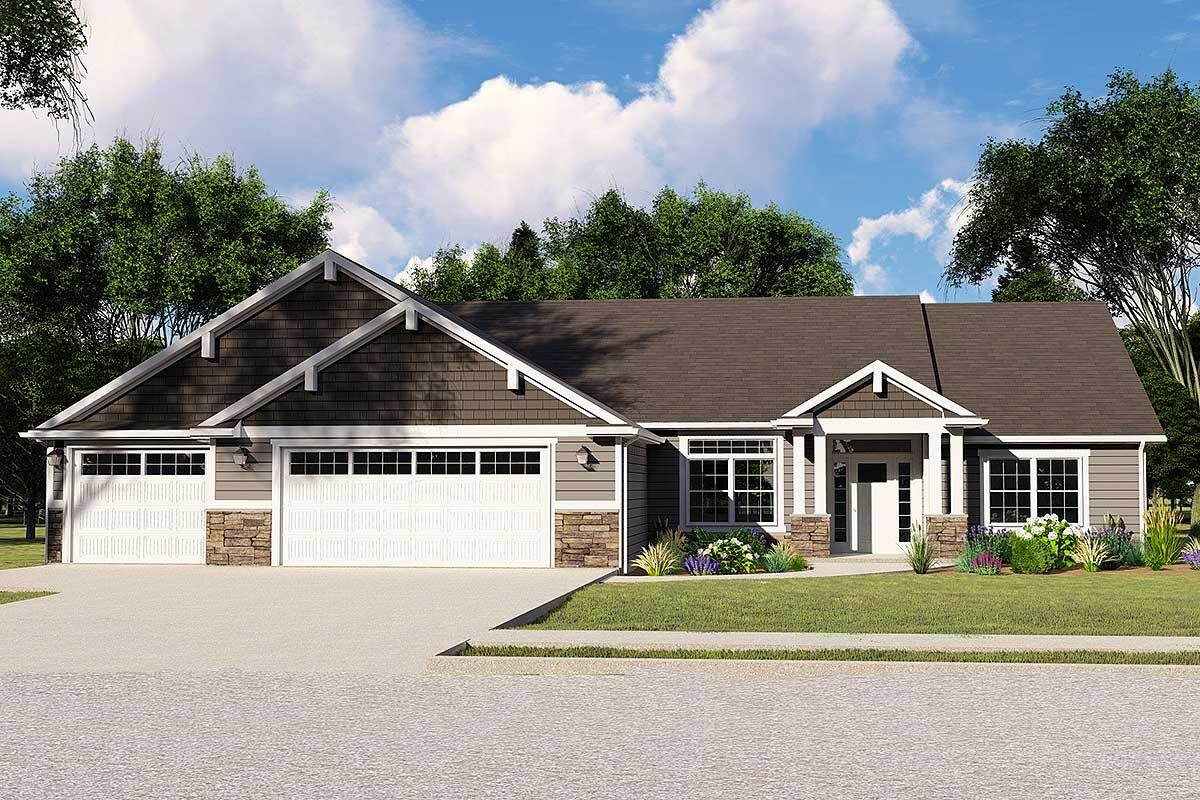 Single-Story 3-Bedroom Northwest Ranch with Open Concept Living
